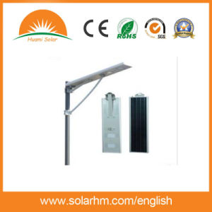 (HM-1660N) IP65 Rated 12V 40W Integrated Solar LED Street Light All in One pictures & photos