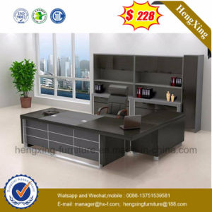China Factory Modern Furniture Office Style Wooden Computer Desk (HX-G0007) pictures & photos