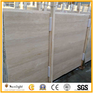 Natural Stone Roma Beige Travertine Wall Cladding/ Flooring Tiles, Cream Travertine pictures & photos