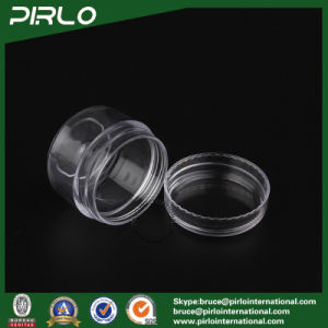 30g 30ml 1oz Full Transparent Plastic Jar with Cap Nail Glitter Plastic Jars pictures & photos