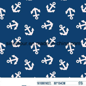 Anchor Boys Knitted Printing Fabric 80%Nylon 20%Spandex Fabric for Swimwear pictures & photos