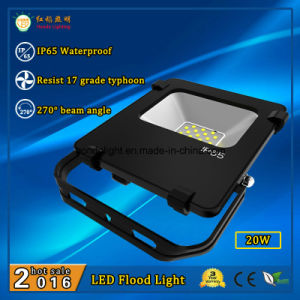 3 Years Warranty 20W IP65 Outdoor LED Flood Lamp with 110lm/W and 270 Degree Beam Angle pictures & photos