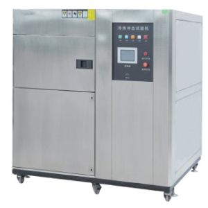 Air-to-Air Shock Chambers Three-Zone Thermal Shock Test Chamber