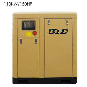 Excellent After-Sales Service and Factory Price Screw Air Compressor Btd-110am pictures & photos