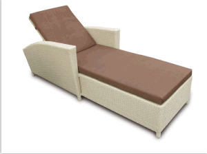 Outdoor Rattan Furniture Leisure Lounge Bed-3 pictures & photos