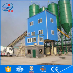 Hzs25 Concrete Batching Plant with 25m3 Capacity pictures & photos