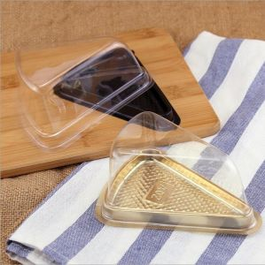 Riangle Transparent Blister Packing Box for Sandwich pictures & photos