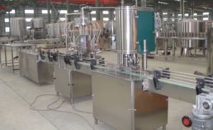 Juice Tin Plate Can Filling and Sealing Machine pictures & photos