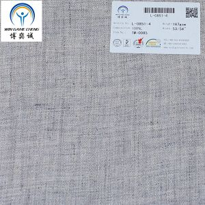 Twill Washed Pure Linen Fabric for Garment pictures & photos