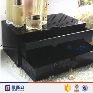 Cube Black Acrylic Jewelry Drawer Makeup Organiser for Sale pictures & photos