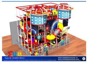 Space Themed Indoor Playground with Tube