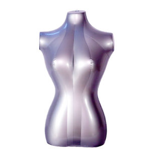 Air Strong Femal Fashion Model Half-Body PVC or TPU Inflatable Mannequin Without Head and Leg pictures & photos