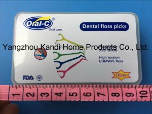 2015 New Dental Floss Tooth Pick pictures & photos