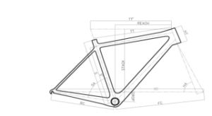 2016 New Design Chinese Carbon Road Frame Bike pictures & photos