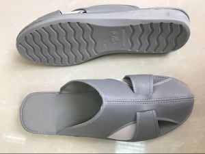 Four Holes PU Sole Anti Static Shoes pictures & photos