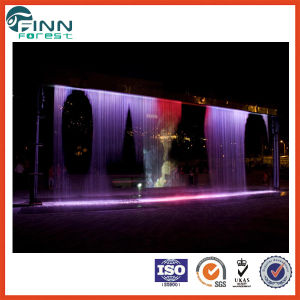 Modern Hotel /Shoping Mall Water Feature /Company Indoor Decorative Waterfall pictures & photos