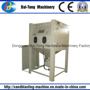 Manual Pressure Type Sandblast Cabinet for Cast Products pictures & photos