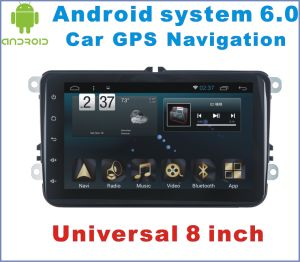 Android System 6.0 Car DVD for VW Universal 8 Inch with Car GPS Navigation pictures & photos