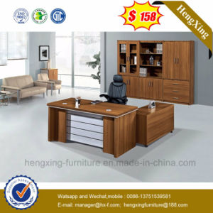 Veneer Office Furniture L-Shape Executive Office Table (HX-DS225) pictures & photos