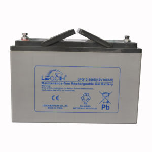 12V 100ah Deep Cycle Solar Battery for Solar Systems pictures & photos