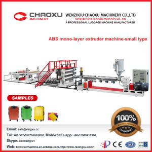 ABS Single-Screw Sheet Plastic Extruder Machine (Yx-21A/S) pictures & photos