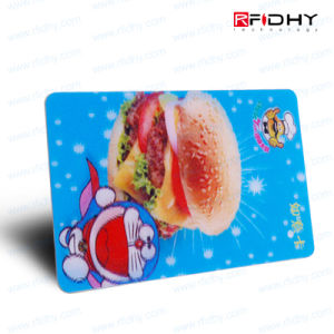 PVC Prepaid Contactless Smart RFID IC Card/MIFARE S50 NFC Card pictures & photos