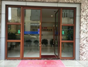 Aluminium Soundproof Used Exterior French Doors for Sale pictures & photos