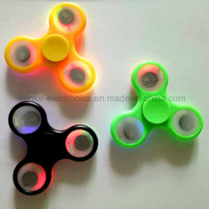 2017 Hot Selling LED Fidget Spinner with Logo Printed (6000) pictures & photos