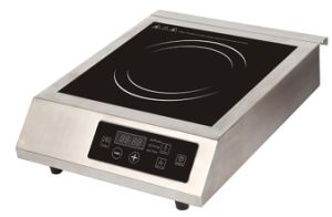 ETL/ cETL Approved 240V/60H 3500W High Power Commercial Induction Cooktop Model SM-A83 pictures & photos