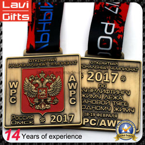 2017 Design Double-Headed Eagle Sport Event Metal Medal pictures & photos