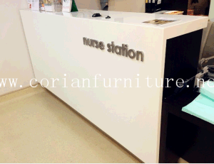 Acrylic Solid Surface Hospital Nurse Station pictures & photos