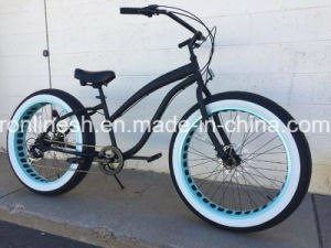 Lady or Women Style 3/ 7speed Retro/Vintage/Nostalgia 20X4 or 26X4 Beach Cruiser Wide/Fat Tyre Bike/Fat Tire Bicycle/Sand/Snow Bike/Fatty Bicycle pictures & photos