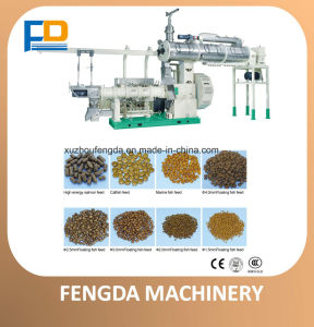 Single Screw Dry Extruder (EXT135G) for Aquafeed and Livestock Feed pictures & photos