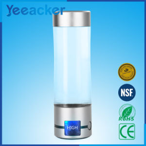 High Quality Portable Water Electrolysis Hydrogen Rich Water Bottle pictures & photos