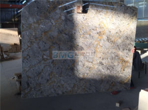 Tundra Gold Marble Slabs, Turkey Grey Marble, Versace Gold, Golden Grey