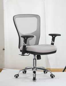 Lumbar Support Office Chair with Adjustable Arms pictures & photos