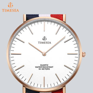 Fashion Nylon Strap Watch Stainless Steel Back Daniel Wellington Style Watch 71255 pictures & photos