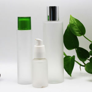Hot Sale Plastic Frosted Pet Bottle with Pump/Cap for Cosmetic Packaging (PPC-PB-058) pictures & photos