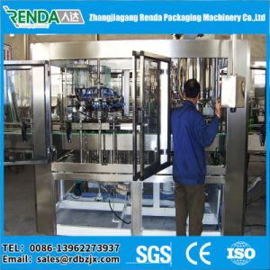 Factory 3in1 Fresh Juice Filling Machine /Screw Plastic Cap Juice Bottling Machine pictures & photos