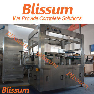 2017 Blissum Welcome New Design Sleeve Labeling Machine pictures & photos
