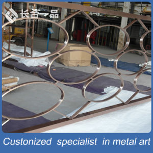 Modern Design Stainless Steel Folding Decorative Partition Screen Roon Divider pictures & photos