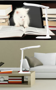 Re-Chargeable Dimmable Flodable Portable LED Desk Lamp pictures & photos