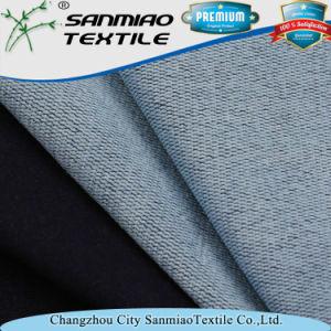 Lasteat Unique Polyester Elastic Denim Fabric for Beautiful Suspenders pictures & photos