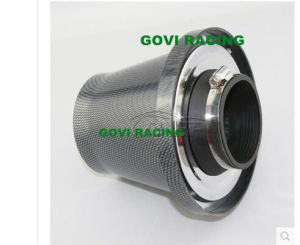 Carbon Car Auto Air Filter 3in Universal Pod Filter Intake Pipe pictures & photos