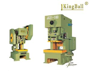 High Precision Deep-Throat Power Press J21s-63 with Fixed Bed pictures & photos
