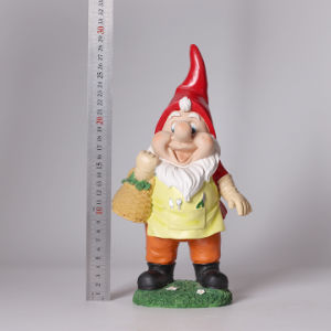 Watering Flowers Dwarf Resin Statue Garden Decoration pictures & photos