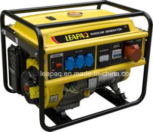 5.0 Kw Three Phase Portable Gasoline Generator pictures & photos