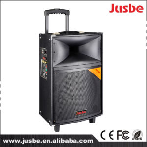 Jusbe portable 12 Inch 300 Watts Professional Audio Trolley bluetooth USB MP3 Music Play Power Speaker with Microphone Port pictures & photos