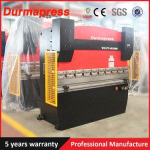 Wc67y Hydraulic Sheet Metal Press Brake Machine for Sale pictures & photos