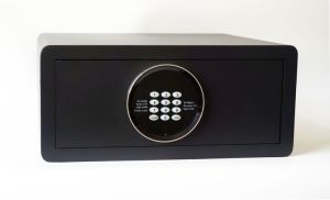 Laser Cutting Digital Hotel Safe Box with LED Display pictures & photos